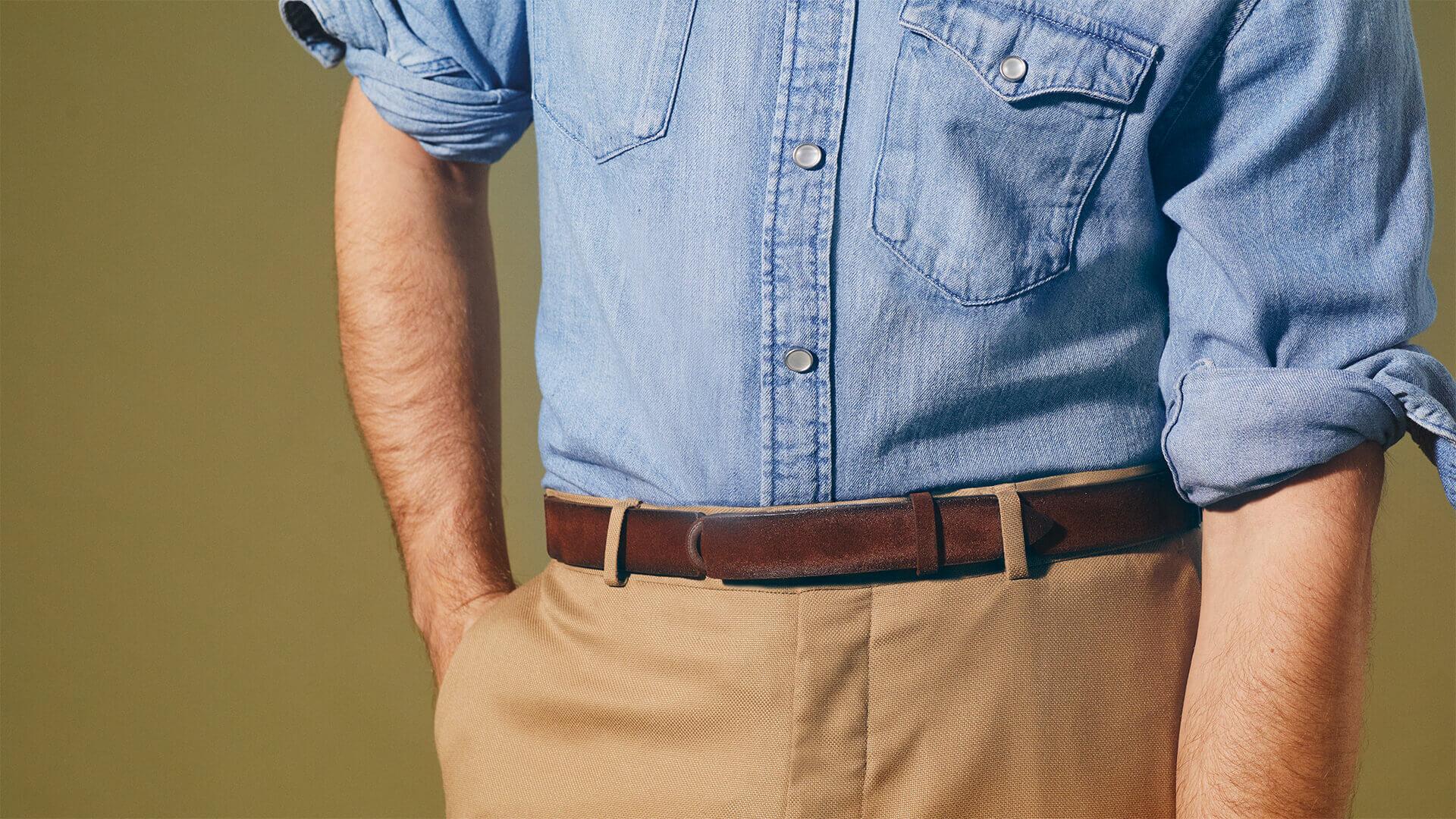 ORCIANI | Nobuckle Belts collection. Leather Belts | Shop online USA