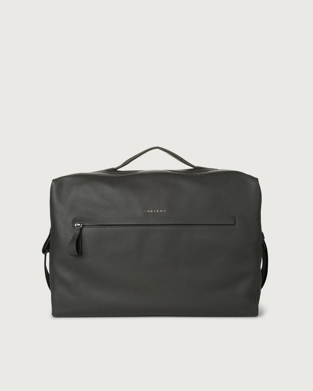 4efb08c313 Bond large leather duffle bag Smoke