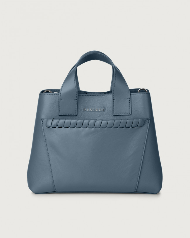 Orciani Borsa a mano Nora Liberty in pelle Pelle JEANS
