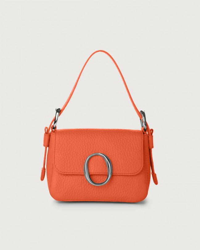 Orciani Mini bag Soho Soft in pelle con tracolla Pelle CORALLO