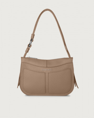 Borsa a spalla piccola Ginger Soft in pelle