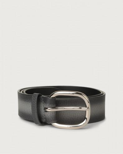 Cintura Micron Deep in pelle con occhielli