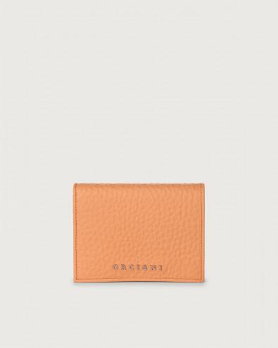Portafoglio piccolo Soft in pelle con RFID