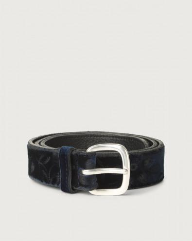 Cintura Velvet in tessuto e pelle