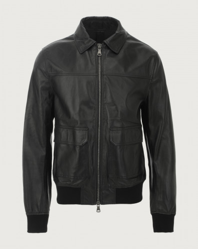 Bomber Nappa Nature in pelle