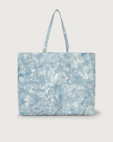Shopper Le Sac Caleido in pelle