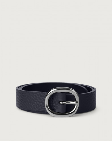 Cintura Soft in pelle 3 cm