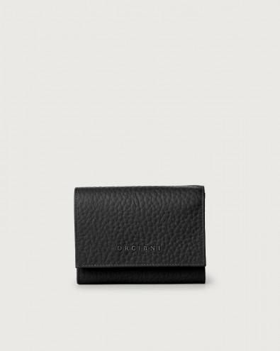 Portafoglio a busta piccolo Soft in pelle con RFID