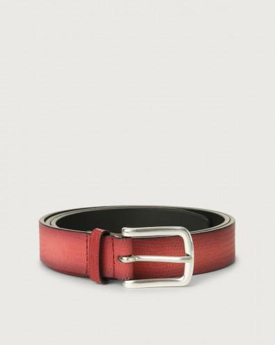 Cintura classica Tejus in pelle