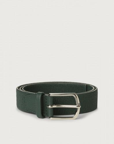 Cintura Micron in pelle elasticizzata