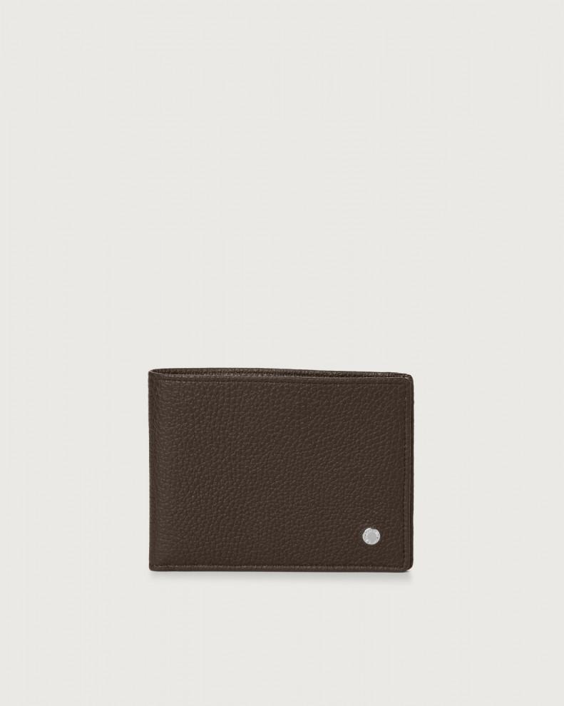 Portafoglio Micron in pelle con RFID