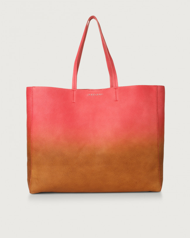 Orciani Le Sac Vanish leather tote bag Leather Red