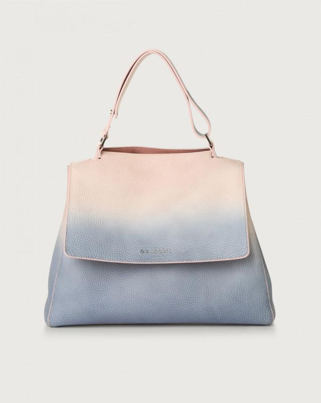 Orciani Sveva Vanish medium leather shoulder bag Leather White