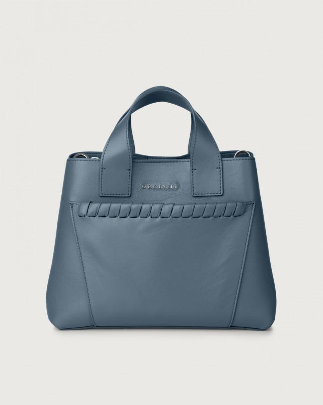 Orciani Nora Liberty leather handbag Leather Denim