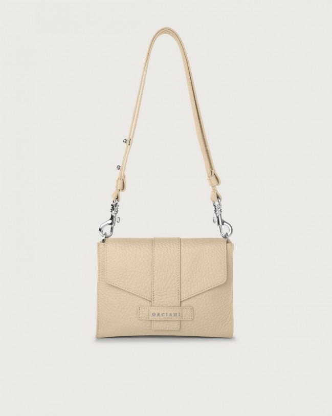Orciani Soft leather mini bag Leather Sand