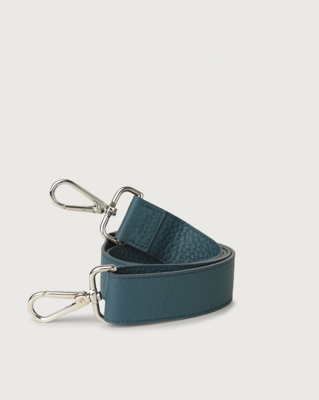 Orciani Soft adjustable leather strap Leather Blue