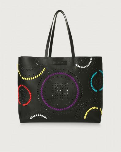Le Sac Carioca leather tote bag