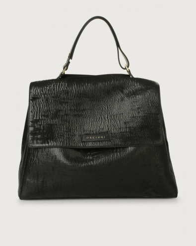 Sveva Cutting large leather shoulder bag