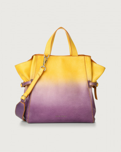 Fan Vanish medium leather handbag
