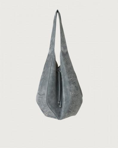 Palma Savage suede shoulder bag