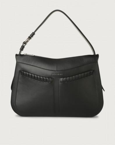 Ginger Liberty large leather shoulder bag