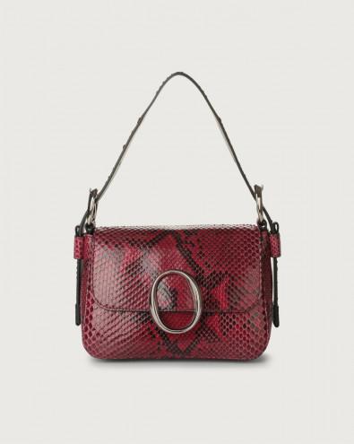 Soho Diamond pyhton leather mini bag with strap