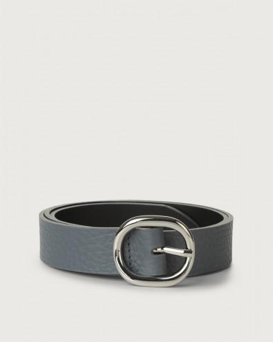Soft leather belt 3 cm