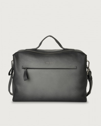 Bond Micron Deep leather duffle bag
