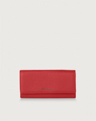 Soft leather envelope wallet