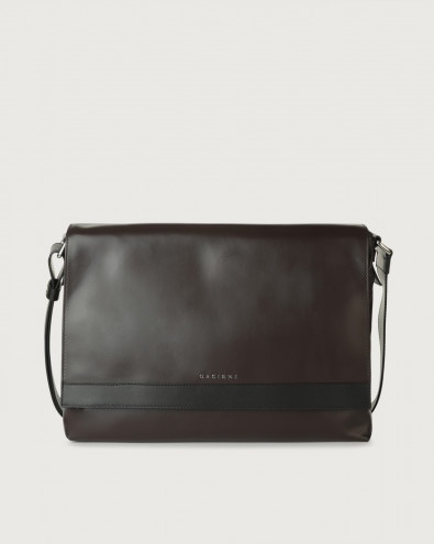 Liberty Duo leather messenger bag