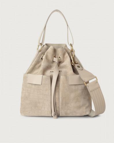 Tessa Coco medium suede bucket bag