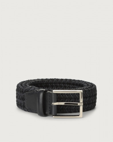 Sheen Elast braided fabric belt