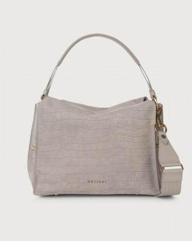 Twenty Coco suede shoulder bag