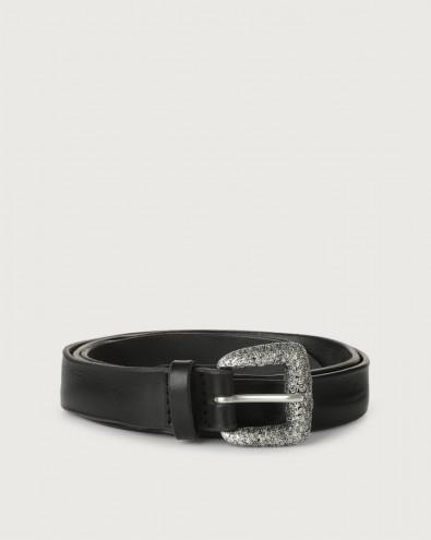 Bull Soft thin leather belt