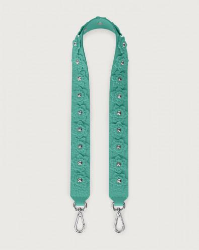 Soft Flower leather strap