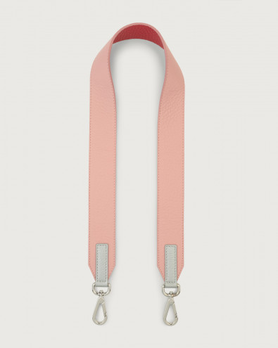 Silver Soft leather belt