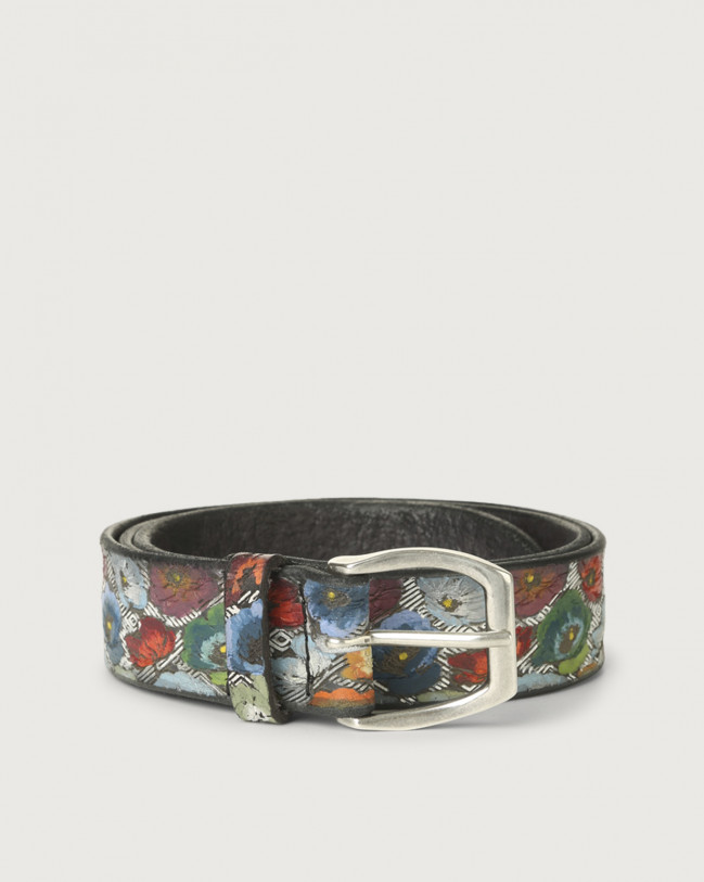 Orciani Holland leather belt Leather Unique