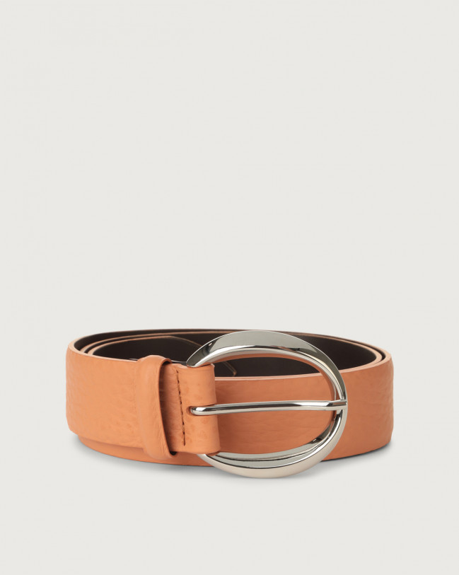 Orciani Soft leather belt Leather Fard