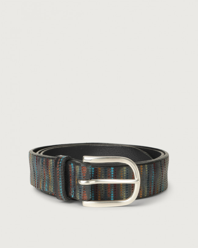 Orciani Prick leather belt Leather Unique