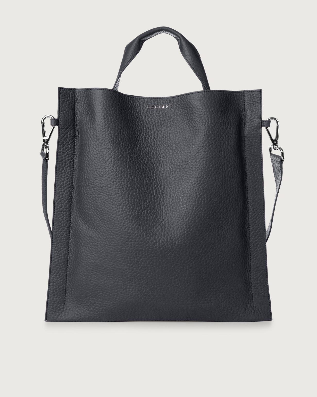 Cross-body Purse Navy Blue Leather Bag Handbag Iris