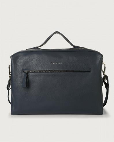 Bond Micron leather duffle bag