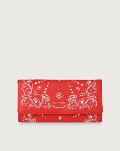 Bandanas leather envelope wallet