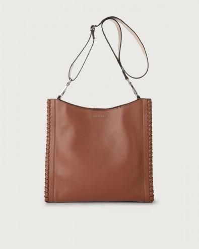 Iris Liberty Mesh leather crossbody bag