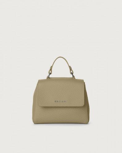 Sveva Soft mini leather handbag with strap