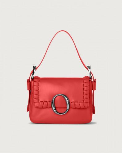 Soho Liberty leather mini bag with strap