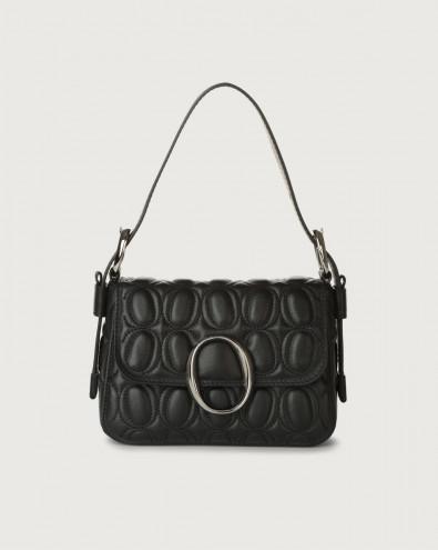 Soho Matelassé leather mini bag with strap