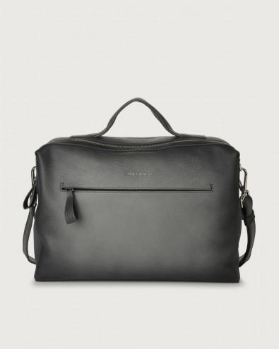 Bond Micron Deep leather duffle bag
