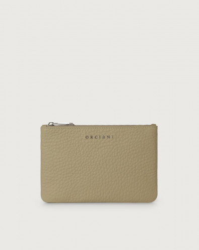 Soft leather pouch