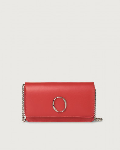 Liberty leather pochette with RFID