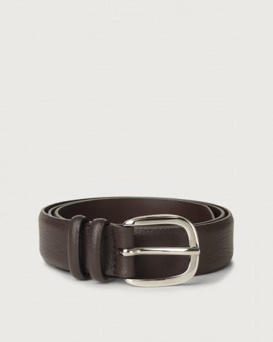 Dollaro leather belt